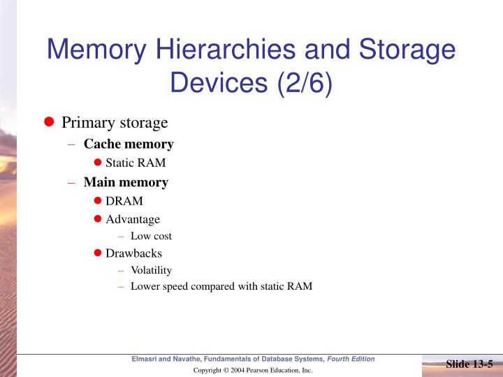 Memory Hierarchies and Storage Devices (2/6)