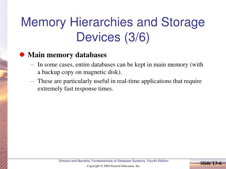 Memory Hierarchies and Storage Devices (3/6)