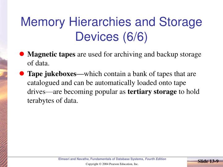 Memory Hierarchies and Storage Devices (6/6)