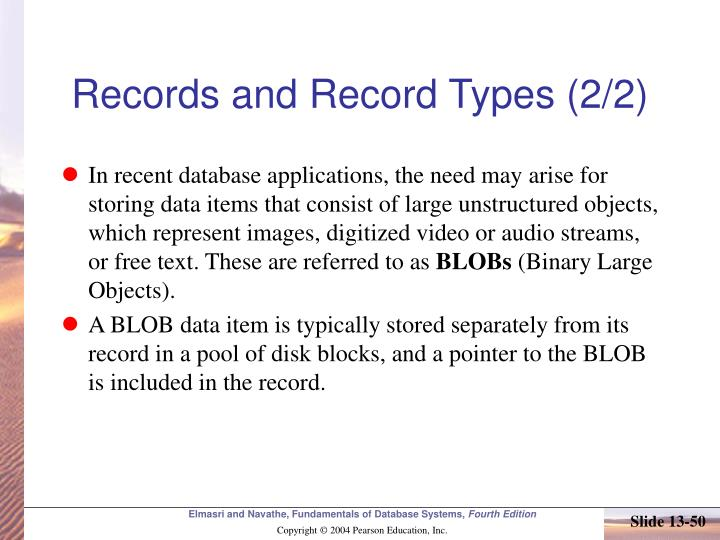 Records and Record Types (2/2)