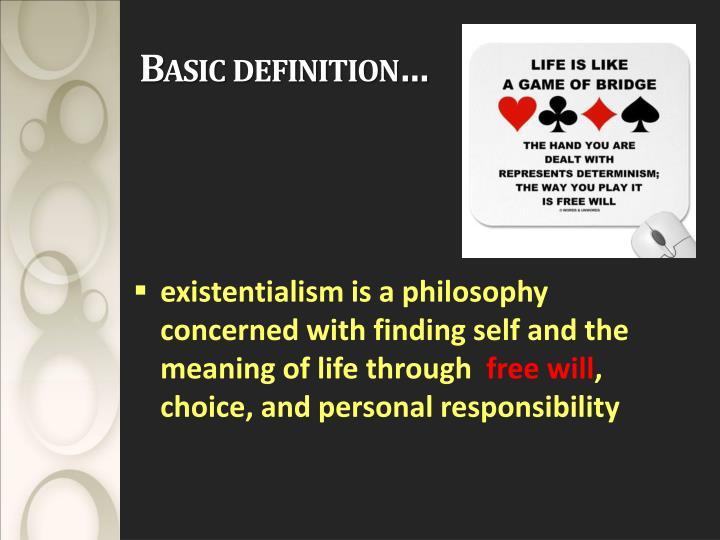 Basic definition…