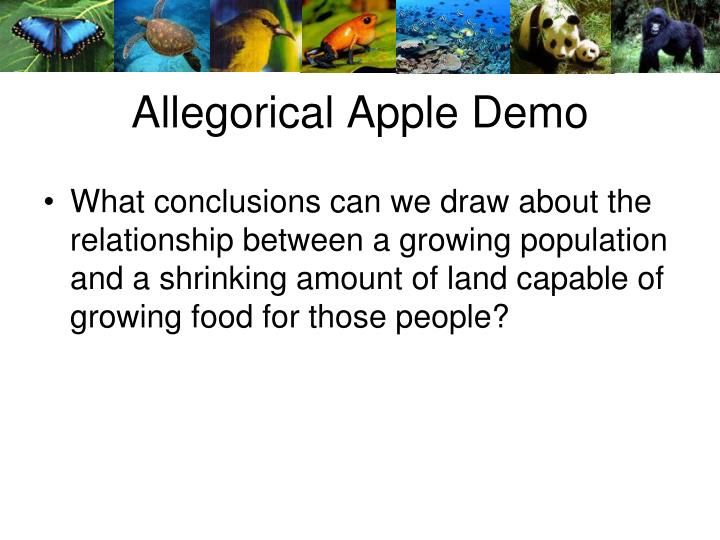Allegorical Apple Demo
