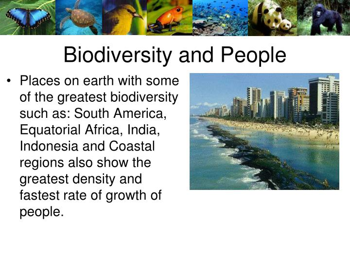 Biodiversity and People