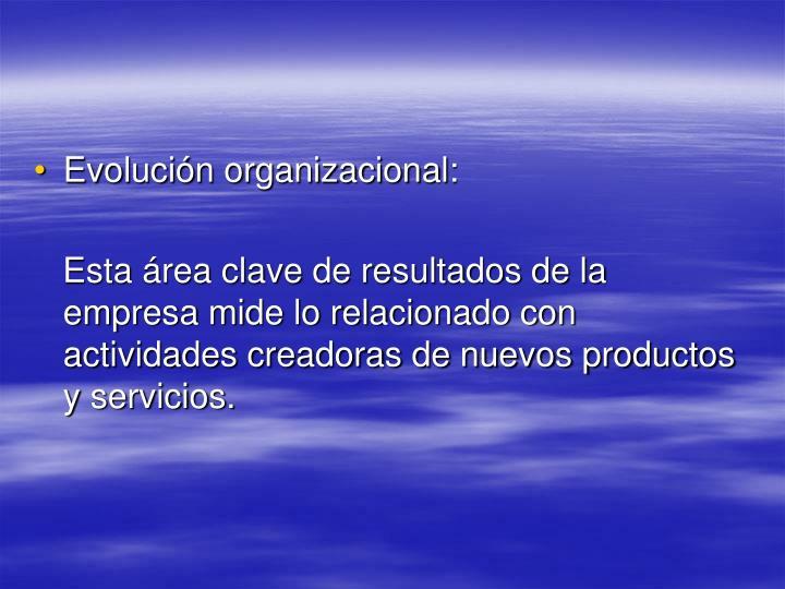 Evolución organizacional: