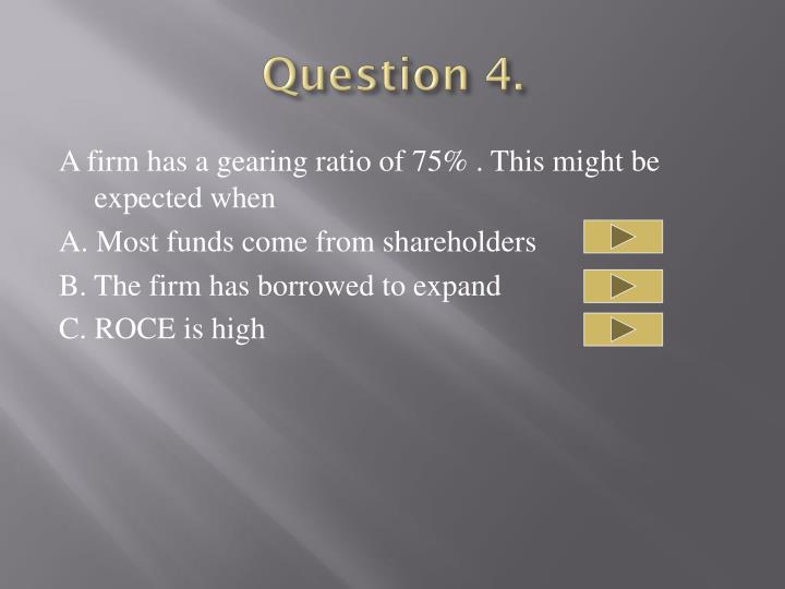 Question 4.