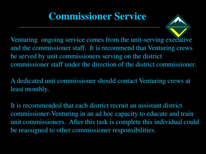 Commissioner Service
