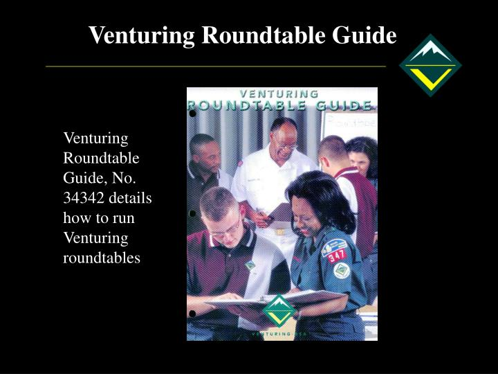 Venturing Roundtable Guide