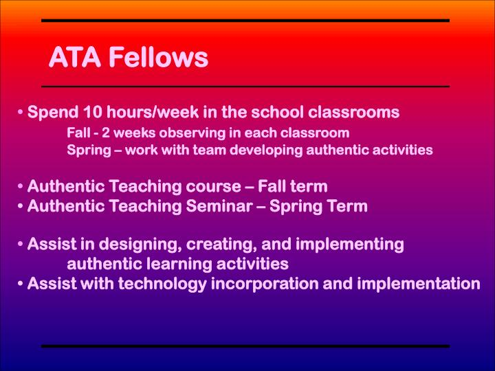 ATA Fellows