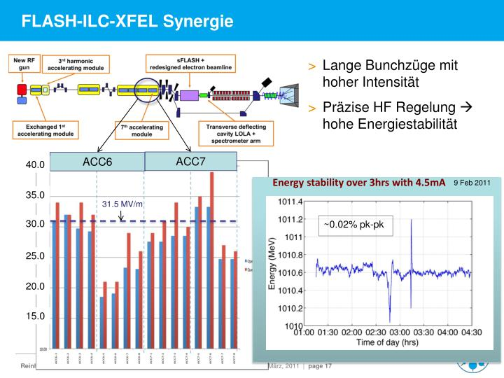 FLASH-ILC-XFEL Synergie