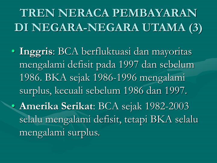 TREN NERACA PEMBAYARAN DI NEGARA-NEGARA UTAMA (3)