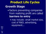 product life cycles13