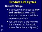 product life cycles15