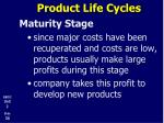 product life cycles18