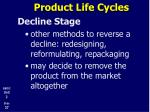 product life cycles21
