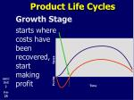 product life cycles9