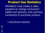 product use statistics5