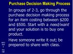 purchase decision making process9