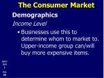 the consumer market12