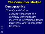 the consumer market14
