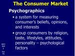 the consumer market15