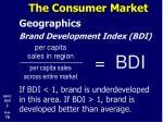 the consumer market21