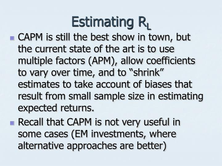 Estimating R