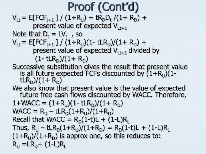 Proof (Cont'd)