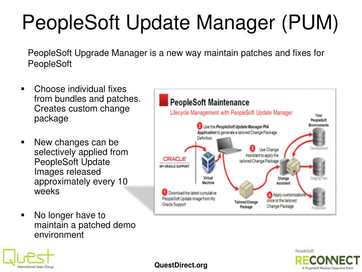 PeopleSoft Update Manager (PUM)