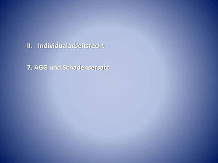 II.Individualarbeitsrecht