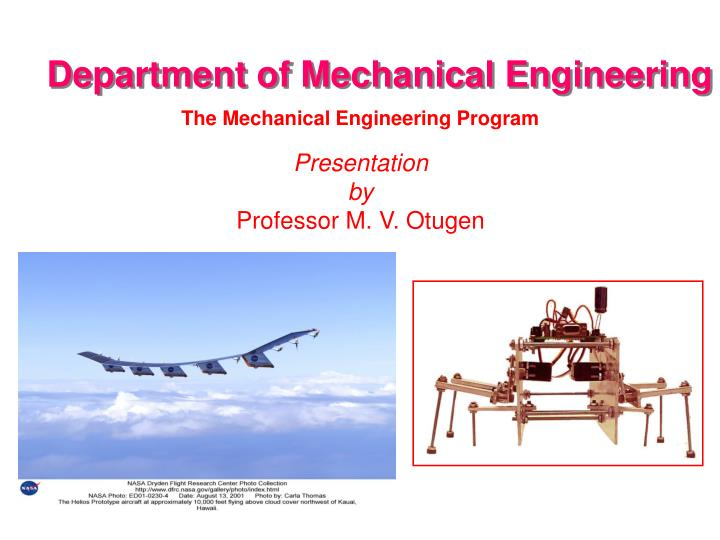 Powerpoint presentation topics for mechanical engineering