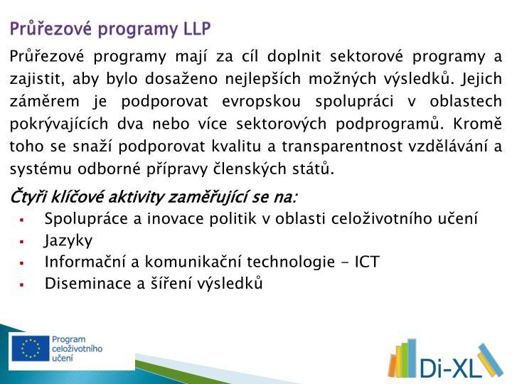 Průřezové programy LLP