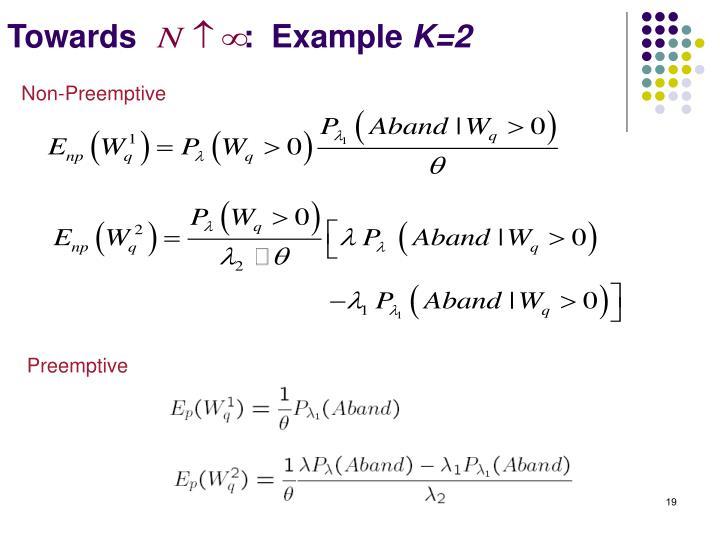 Towards            :  Example