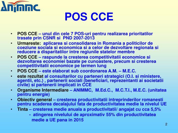 POS CCE