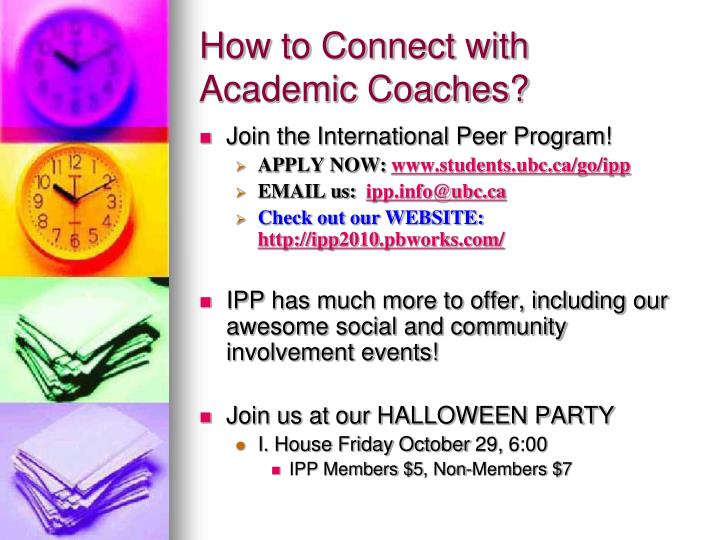 How to Connect with Academic Coaches?