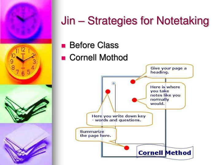 Jin – Strategies for
