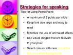 strategies for speaking1