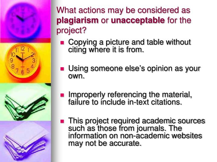 What actions may be considered as
