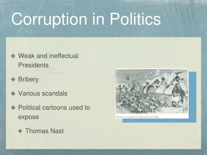 Corruption in Politics