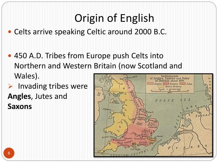 Origin of English