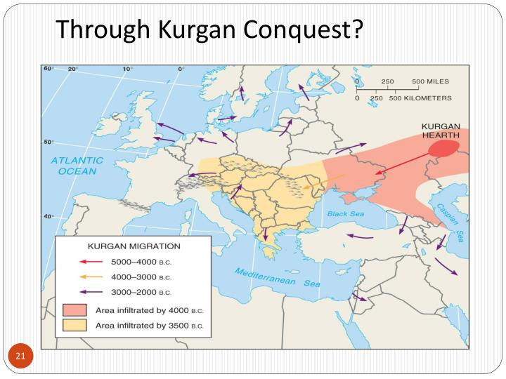 Through Kurgan Conquest?