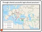 through shared successful agricultural practices