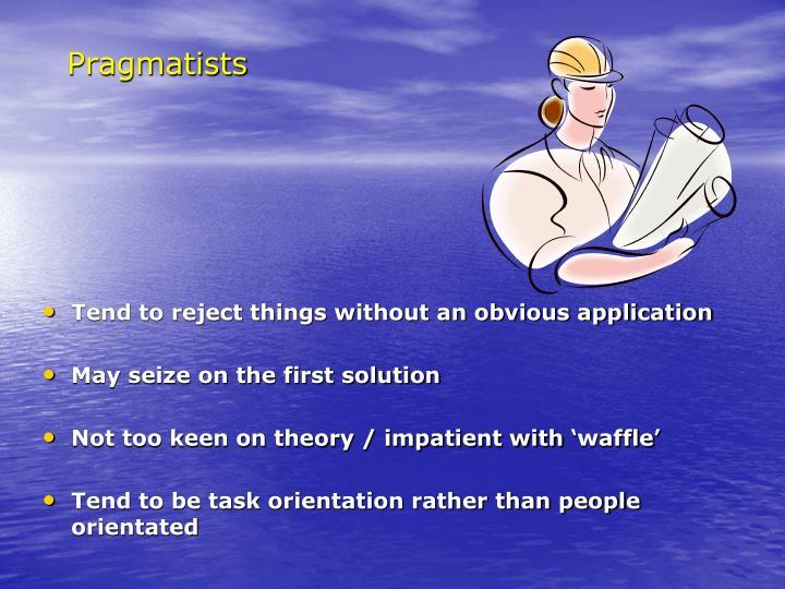 Pragmatists
