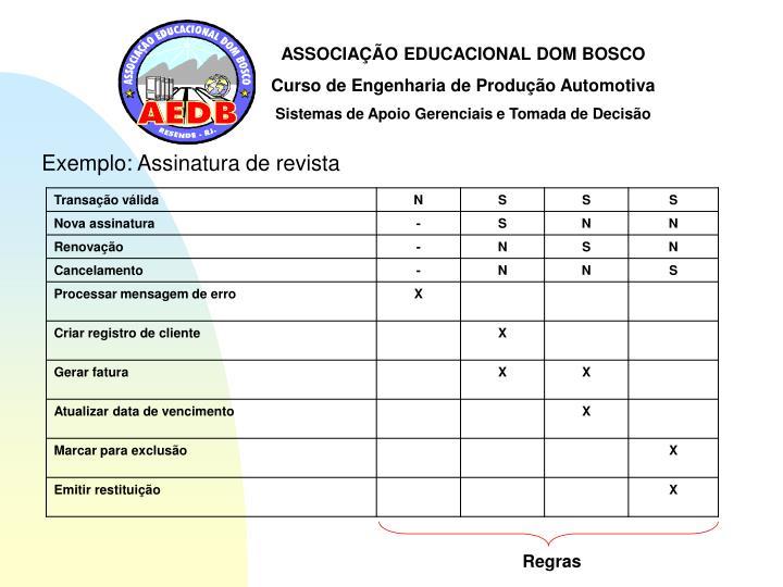 ASSOCIAÇÃO EDUCACIONAL DOM BOSCO