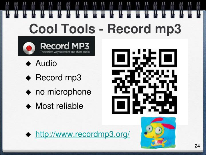 Cool Tools - Record mp3