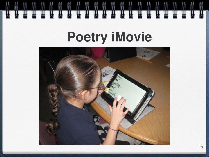 Poetry iMovie