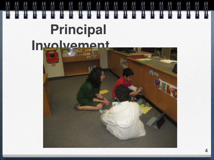 Principal Involvement