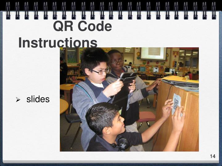 QR Code Instructions