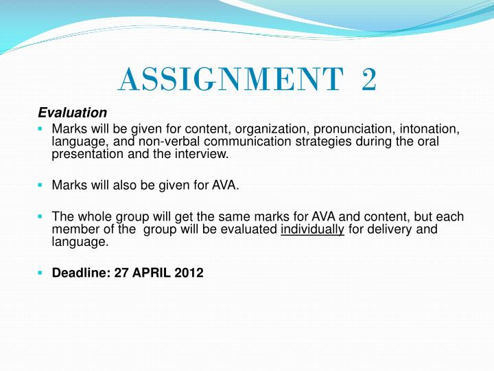 ASSIGNMENT  2