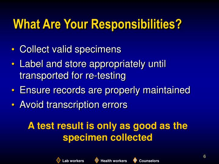 What Are Your Responsibilities?