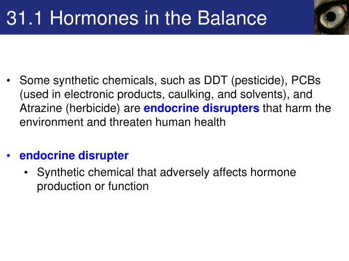 31.1 Hormones in the Balance